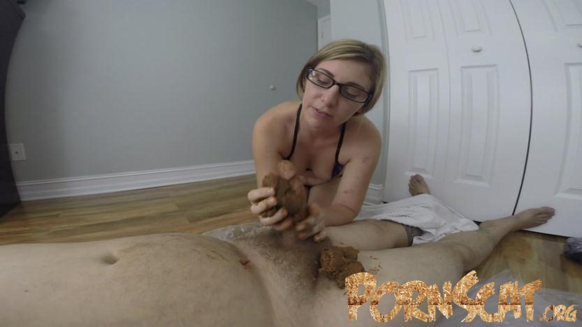 GIGANTIC POOP on his COCK - HotScatWife [FullHD / 2017]