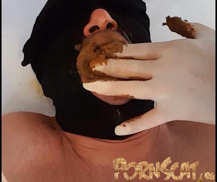 Porn Scat Mega shit stuffed in his mouth - Brown Karina [FullHD ...