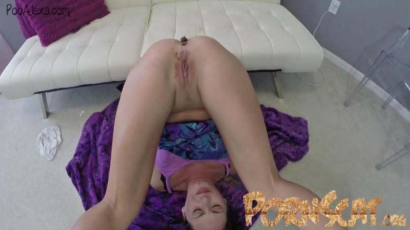 Upside Down Farts and Poop - Alexa (Jessica Valentino) [FullHD / 2016]