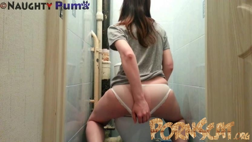Transparent Pantes Pooping with NaughtyPuma -  [FullHD / 2017]