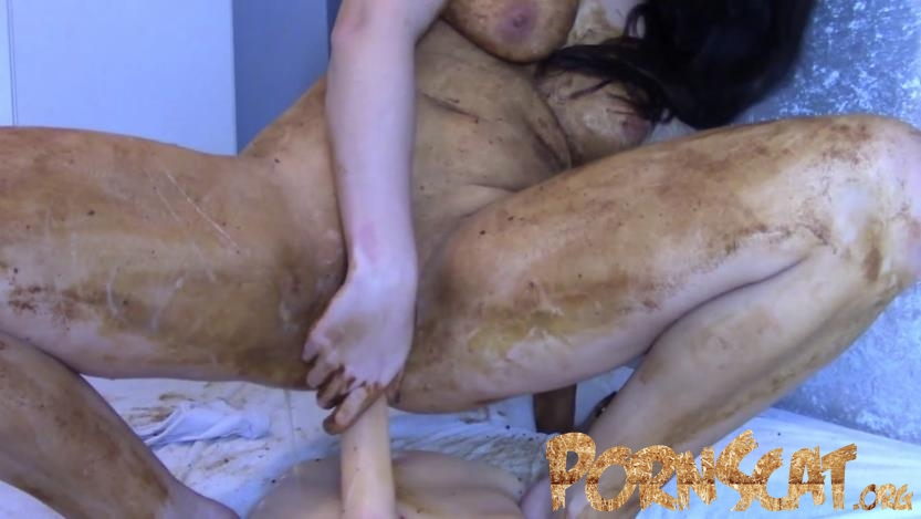 Legging Crackling Shit And Smear with evamarie88  [FullHD / 2018]