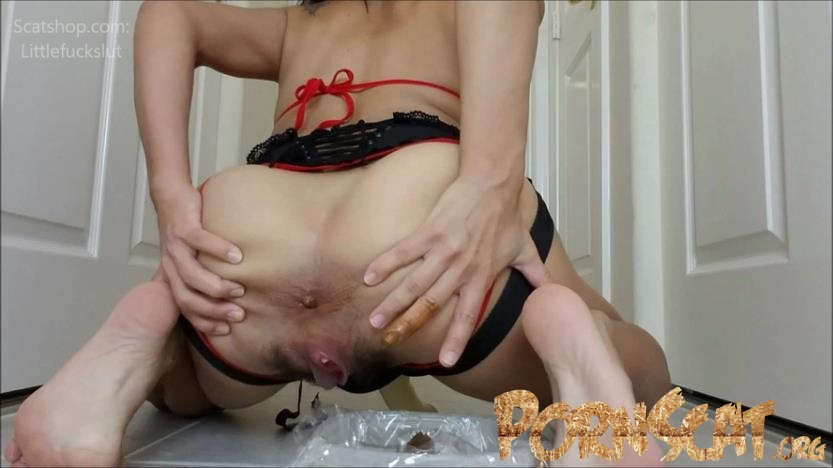Eat My Shit While I Fuck Your Ass with littlefuckslut [FullHD / 2019]