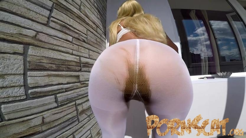 White stockings full of shit with scatdesire [FullHD / 2019]