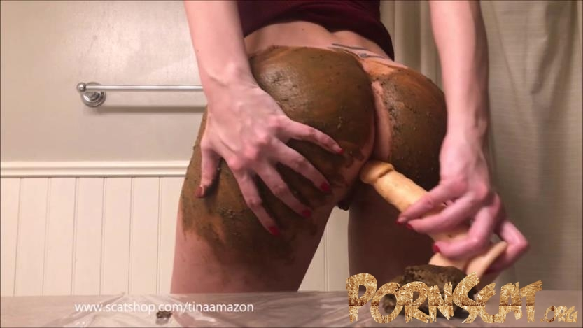 Dirty anal atm with full ass smearing with TinaAmazon [FullHD / 2020]
