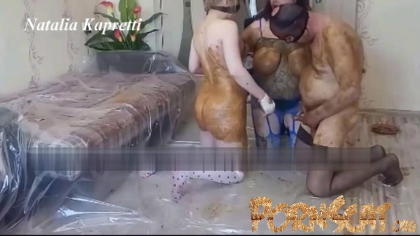 Shitty orgy my slavegirl, with married friends with Mistress  [HD / 2020]