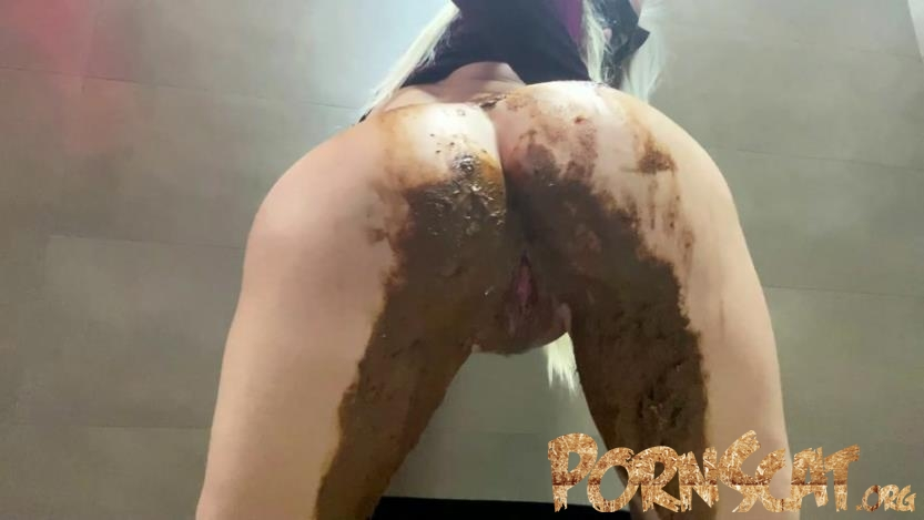 Shiny Leggings Poop with thefartbabes  [FullHD / 2020]