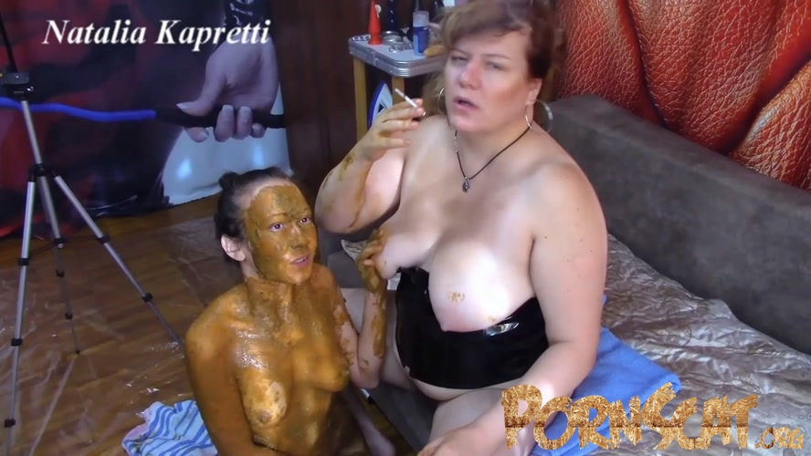 She covered in shit, she my toilet with Mistress  [FullHD / 2020]