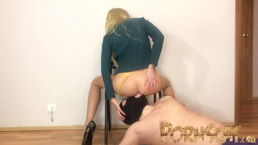 Toilet Slave Swallow My Shit with Mistress Emily [FullHD / 2020]