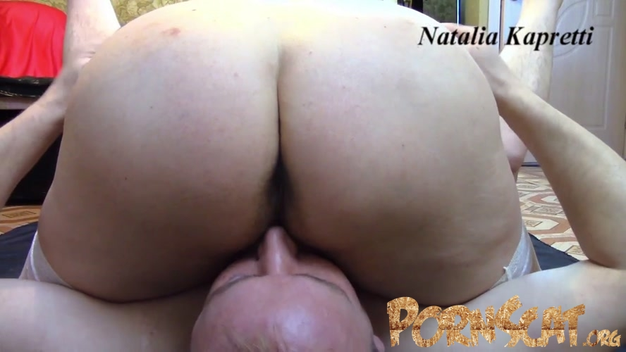 Fisting slave in ass until piss himself - Dirty fisting and oral in 69 position with Natalia Kapretti [FullHD / 2020]